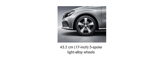 Alloy options for for Mercedes benz b 180 sports